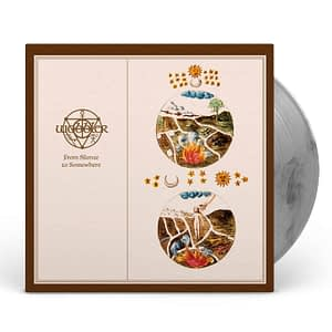 Wobbler - From Silence to Somewhere transparent black marble LP