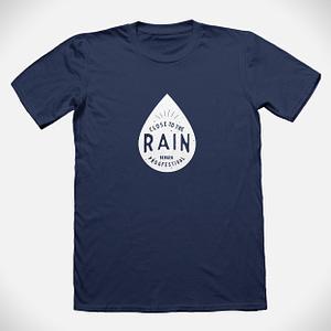 Close to the rain t-shirt
