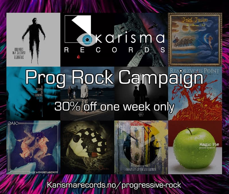 Karisma Records Prog Rock Sales Campaign