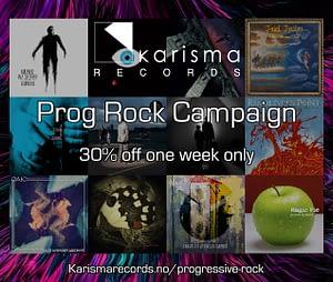 Prog rock sales campaign
